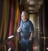 Train Orient Silk Road Express : Passager dans le couloir