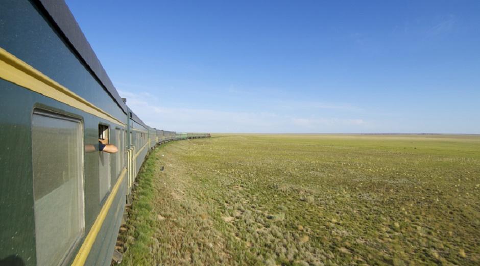 Train Trans-Mongolian