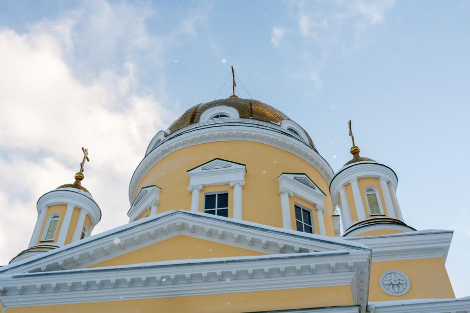 Dômes de la Cathédrale Saint Nicolas