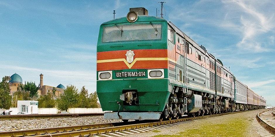 Train spécial Registan à travers le Kazakhstan Ouzbekistan Turkmenistan sur la Route de la Soie