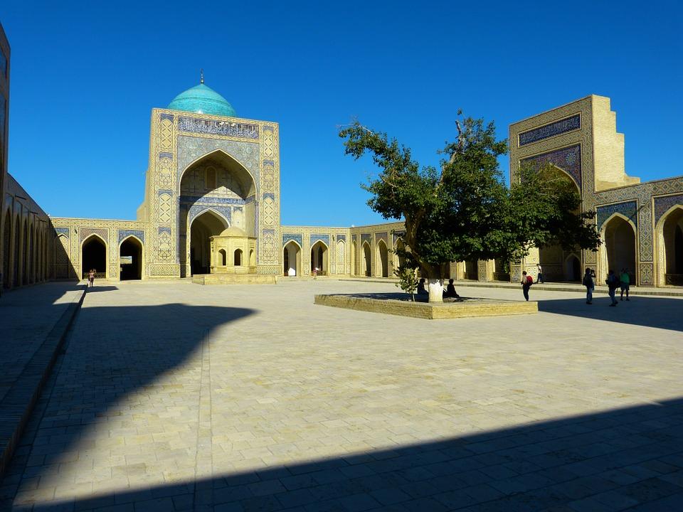Cour de la Mosquée Kalon